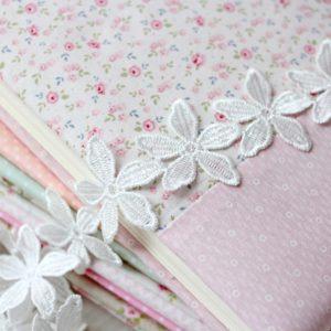 Кружево белые цветочки