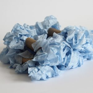 """Шебби лента """"Небесно-голубой"""""""