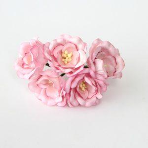 Объемные цветы для скрапбукинга