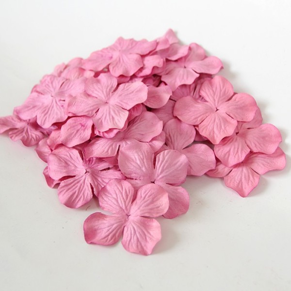 Гортензия большая розовая