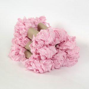 """Шебби лента """"Розовый тюльпан"""""""