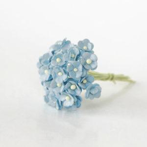 Лютики голубые