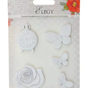 Набор полимерных фигурок Элегия. Бабочки