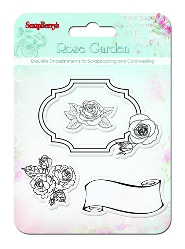 Набор штампов Розы