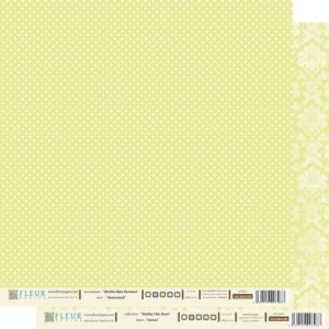 Лист бумаги «Лимонный»