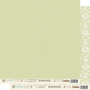 Лист бумаги «Весенний Зеленый»