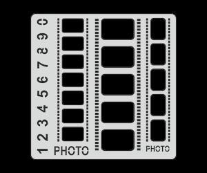 Трафарет Фотопленка (15х15 см)