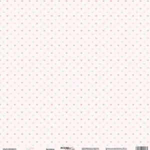 Лист односторонней бумаги 30x30 от Scrapmir Ассорти