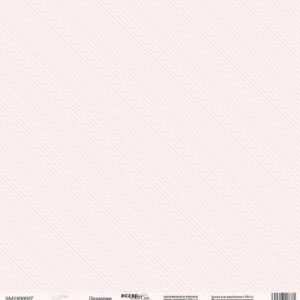 Лист односторонней бумаги 30x30 от Scrapmir Полосочки