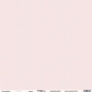 Лист односторонней бумаги 30x30 от Scrapmir Зефир