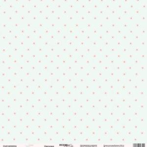Лист односторонней бумаги 30x30 от Scrapmir Цветочки