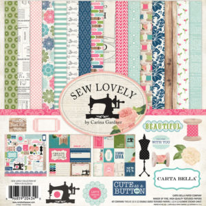 Набор бумаги 30х30 Carta Bella - Sew Lovely Collection Kit