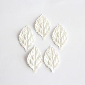 Листья без стебельков - Белые