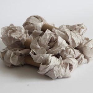 Шебби лента светло-серый