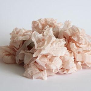 Шебби лента розово-персиковая