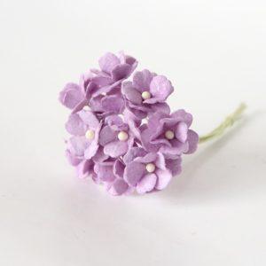 Цветы вишни средние сиреневые, 10 шт.