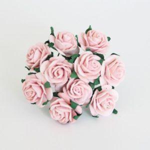 Розы 2 см розово-персиковые