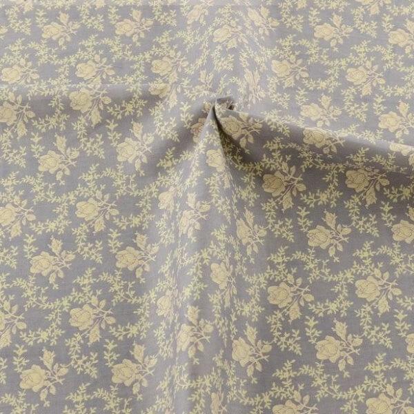 Ткань для скрапбукинга серая с узором