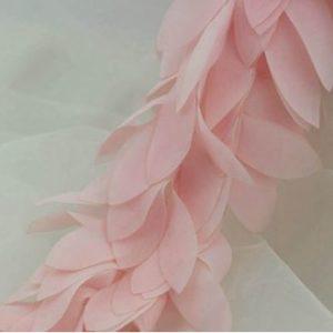 Шифоновые лепестки розовые, 10 см