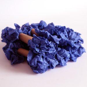 Шебби лента Королевский синий, 1 м