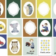 Набор карточек Мальчишки от Полкадот