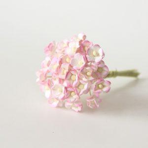 Лютики розовый+белый, 25 шт.