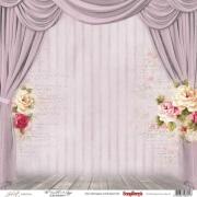 Бумага для скрапбукинга Джульетта Сцена