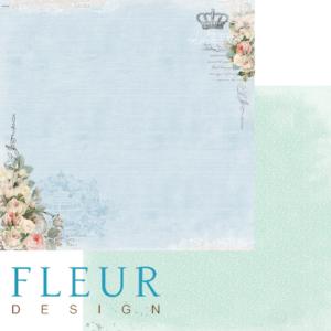 Лист «Цветочная синева», коллекция «Цветы прованса»