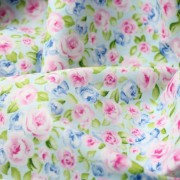 Ткань для скрапбукинга с розами, 40х50 см