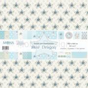 Набор бумаги Мона Дизайн Звездный дракон