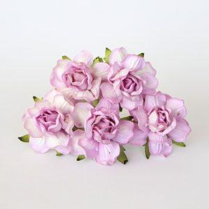 Роза кудрявая светло-сиреневая 4 см, 1 шт.
