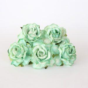 Роза кудрявая светло-зеленая 4 см, 1 шт.