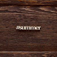 Чипборд надпись summer