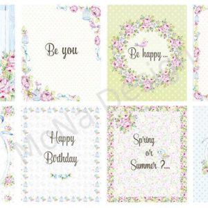 Лист карточек  Мона Дизайн Fancy Spring