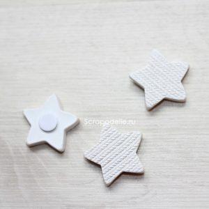 Декоративное украшение полимерная звёздочка, 1 шт.