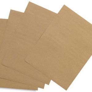 Крафт бумага, формат А4, 10 листов