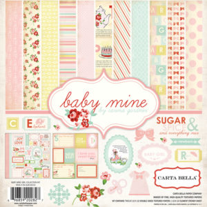 Набор бумаги Baby Mine Girl Collection Kit 30х30