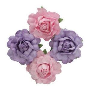 Цветы розы для скрапбукинга