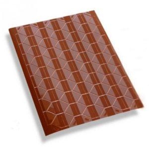 Самоклеящиеся уголки для фото коричневые, 102 шт.