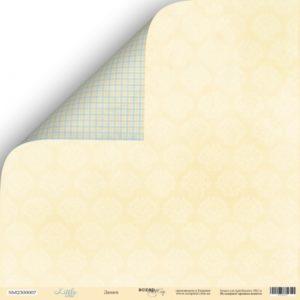 Лист Дамаск из коллекции Scrapmir Little Bear купить в интернет магазине скрапбукинга Скраподелие