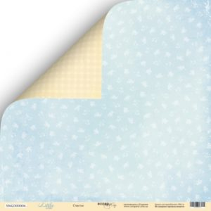 Лист Счастье из коллекции Scrapmir Little Bear купить в интернет магазине скрапбукинга Скраподелие