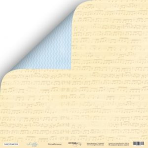 Лист Колыбельная из коллекции Scrapmir Little Bear купить в интернет магазине скрапбукинга Скраподелие