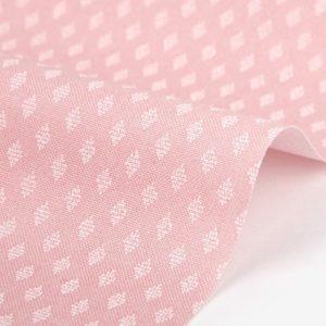 Ткань Daily Like 351 A warm heart diamond, отрез 45х55 см