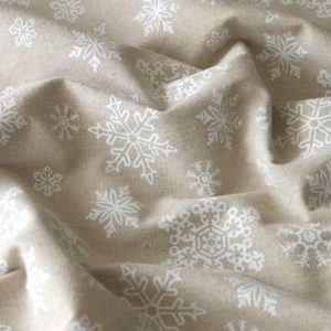 Новогодняя ткань для скрапбукинга, отрез 40х50 см