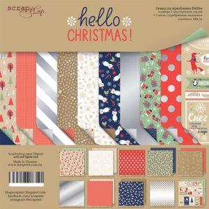 Набор Hello Christmas от Scrapmir 20х20см