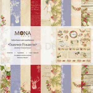 Набор бумаги Сказочное Рождество MoNa Design