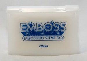 Подушечка пигментная для эмбоссинга Super Emboss