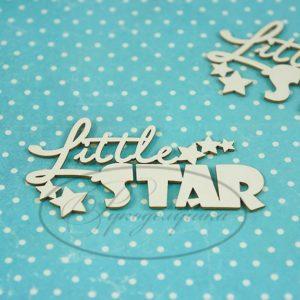 Чипборд Little Star