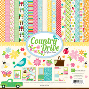 Набор бумаги 30х30 Echo Park Paper - Country Drive Collection Kit