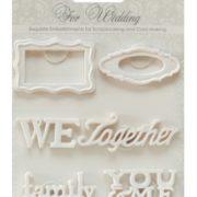 Набор объемных украшений Свадьба 2